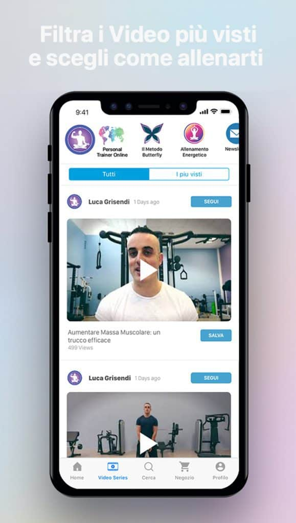 Luca Grisendi Personal Trainer Online2
